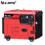 Air-Cooled Silent тип генератора дизельного двигателя (DG5500SE)
