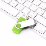 Ручка USB нового изготовленный на заказ логоса выдвиженческая OTG 4GB шарнирного соединения цветастого