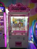 Shopping Mall Claw Crane pousser Win Machine de jeu