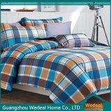 OEMのための新しい冬パターン4PCS 100%上塗を施してある綿の敷布