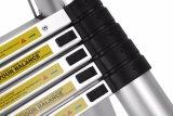 Heiße verkaufen2.6m teleskopische Strichleiter mit Finger-Schutz