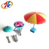 Promotie Jonge geitjes die Plastic BBQ van het Stuk speelgoed van het Spel van het Spel van de Barbecue Speelgoed voor Kinderen interesseren