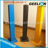 Colonna di ormeggio d'acciaio decorativa via standard di Zealandand della nuova & dell'Australia con la protezione rotonda