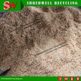 Frantoio di legno del grande spreco di capienza per il riciclaggio del legno dello scarto