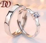 Boucle de mariage de l'argent 925 sterling avec le diamant