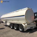 3 tanker-Schmieröltank-halb Schlussteil der Wellen-40m3 Diesel