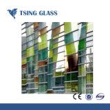 , 건물을%s 파랗고 녹색, 4mm 청동색, 명확한, 분홍색 사려깊은 유리