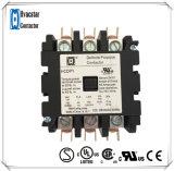 Contactor de la CA del DP del contactor del acondicionador de aire del surtidor del oro con el terminal del rectángulo