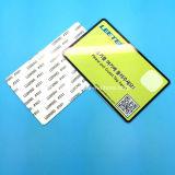Tamper Evident HF UHF RFID Etiquetas parabrisas de coches para vehículos