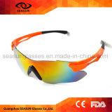 Framelessの方法大きいHD視野UV400の保護循環の運転のスポーツのサングラス