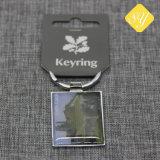 Modo su ordinazione Keychain della stella del metallo di stampa di prezzi di fabbrica