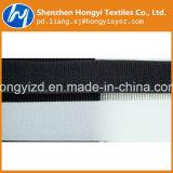 Fita preta elevada de nylon do prendedor de Velcro de Quanlity Hook&Loop