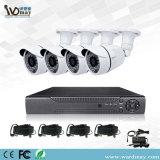 Câmera análoga 4CH DVR do sistema HD do CCTV da segurança do Wdm
