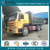 China Usado Veículo Caminhão de Despejo de Mineração HOWO Sinotruk VEÍCULO 6X4