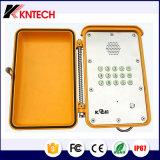 Téléphone lourd d'intercom du téléphone attaché par téléphone extérieur VoIP d'IP