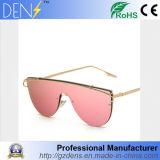 Venda por grosso de metais do desporto feminino óculos de sol polarizado óculos de sol do Espelho