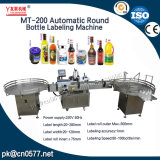 Máquina de etiquetas automática do frasco redondo para enlatado (MT-200)