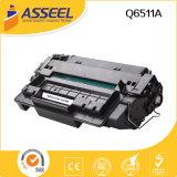 Cartucho de tóner de alta calidad compatible con Q6511A para HP 2410