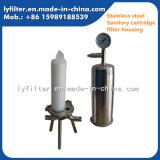 Qualitäts-Flüssigkeit und Luft-Edelstahl-Filtergehäuse