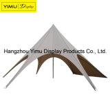 Tenda esterna della stella con singolo Palo di alluminio ed il vostro marchio