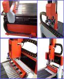 Pequeño metal del Atc 6060 que muele el ranurador del CNC para el latón de aluminio