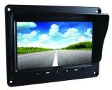7 da câmera do carro polegadas de sistema da opinião traseira