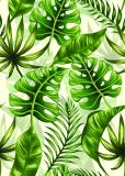 Einfacher Entwurfs-dekoratives noch Leben-Pflanzensegeltuch-Drucken