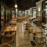 (SD3009) de Houten Eettafel van het Restaurant Morden met Stoelen