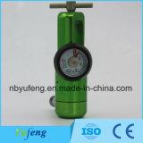 Yf-Cga870PT нажмите кнопку Стиль кислородного датчика массового расхода воздуха с помощью различных медицинских газов адаптера