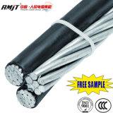 Gesprungenes Service Absinken-Aluminium Leiter-Luftteil 1 des Kabel-(ABC-Kabel) Triplex