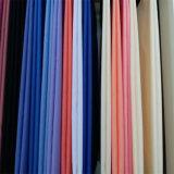 100% poliéster de color blanco de las telas tejidas Galabia