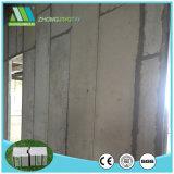 Los paneles de pared de emparedado del cemento del aislante de calor EPS para la mansión