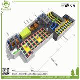 Park van de Trampoline van het Ontwerp van de Prijs van de fabriek het Nieuwe Binnen, Commerciële Trampoline voor Volwassenen