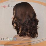사람의 모발 피부 상단 여자 가발 (PPG-l-01803)