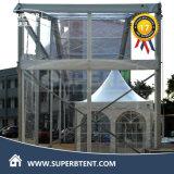 큰 투명한 지붕 덮개 천막