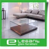 Просто таблица изогнутая квадратом стеклянная разбивочная с зеркалом