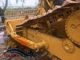 使用された幼虫のクローラーブルドーザーD5h猫のトラクター