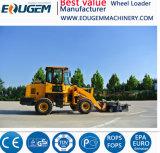 Het Merk Avant van de gem Lader van het Wiel van het VoorEind van 1.2 Ton de Mini voor Landbouwbedrijf