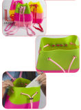 실리콘 졸라매는 끈 책가방 무지개 줄무늬 학교 부대 여행 Bagssummer 바닷가 방수 책가방