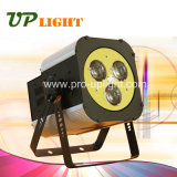 단계 장비 3* 30W Osram RGBW 4in1 급상승 세척 광속 LED 효력 빛