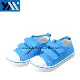 新しいデザイン偶然靴PVC注入の子供のズック靴