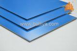 Façade extérieure mur coupe-feu retardateur de feu Fr 3mm 4 mm en acier inoxydable de 6 mm de cuivre zinc titane Acm ACP le revêtement en aluminium panneau composite Honeycomb