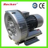 Função do ventilador do anel com sopro e sução de alta pressão do ar