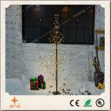 작은 공을%s 가진 창조적인 크리스마스 훈장 PVC 나무 빛