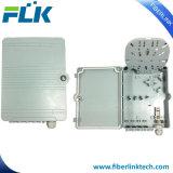 8 Puertos IP65 caja de distribución de fibra óptica de plástico para FTTH/FTTX Solución