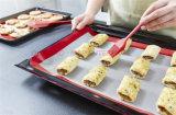 De hittebestendige BBQ van het Silicone van het Baksel van het Blad van het Koekje Nonstick Mat van de Grill