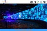 Evossonの高いグレースケールの段階のイベントのための低い明るさP3.91レンタル屋内LED表示