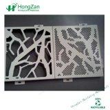 Materiale da costruzione che intaglia impiallacciatura di alluminio per la parete
