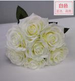 Comercio al por mayor FLORES ARTIFICIALES flores rosa de seda artificial