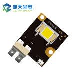 6,66*6.66mm Les 90W de alta intensidad de la Lumen 90W COB Flip Chip LED de la luz de la etapa